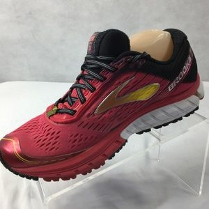 Brooks Ghost 9 Sneakers Sz 9.5 Running Shoes Pink